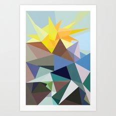 Geo-02 Art Print
