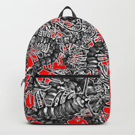 Centipede party Backpack