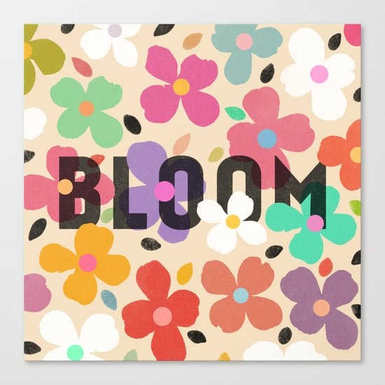 Bloom by Galaxy Eyes & Garima Dhawan Canvas Print