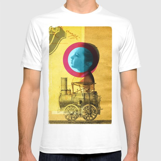 A childhood journey between reality and imagination... T-shirt