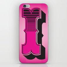Alphabet I iPhone & iPod Skin