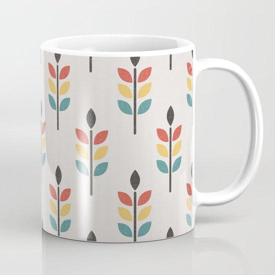Leaf Pattern Mug
