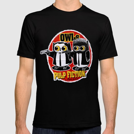 Owls Pulp Fiction T-shirt