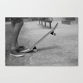 Skater Dude #2 Canvas Print