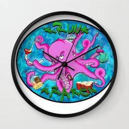 The Krunk Kraken  Wall Clock