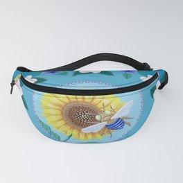 Australian Spring Mandala Fanny Pack