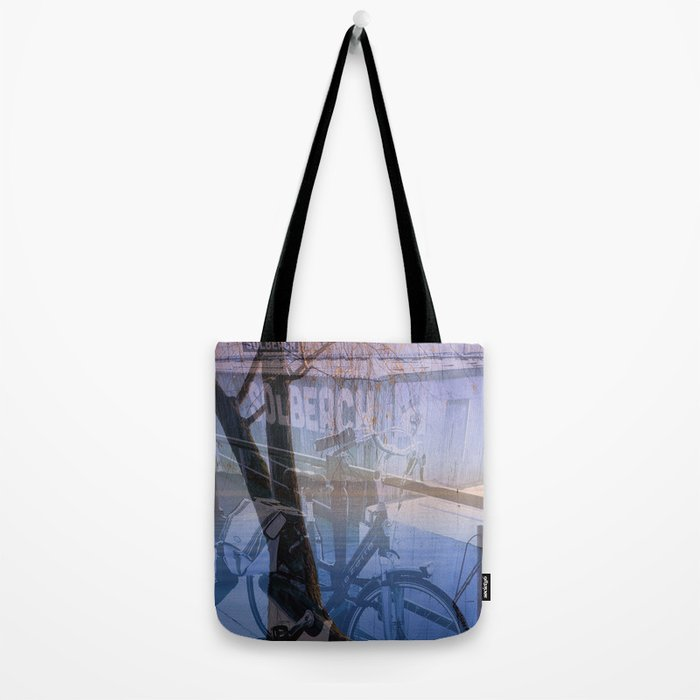 Biking in Nature Tote Bag