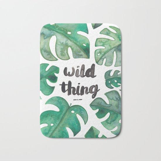 Wild Thing Bath Mat