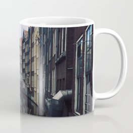 Amsterdam buildings on a river view  Coffee Mug