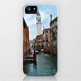 Leaning Venice iPhone Case