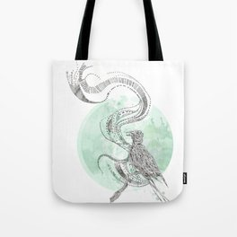 Bird Cry Tote Bag