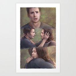 Stucky (Steve Needs a Hug) Art Print