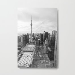 TORONTO CITY CANADA II Metal Print