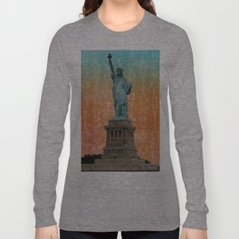 Revolutions - Statue of Liberty Long Sleeve T-shirt