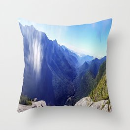 Old Man's View Throw Pillow