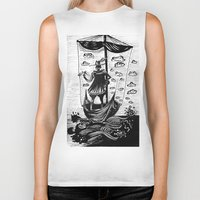 voyage Biker Tanks featuring Voyage by Daizy Boo