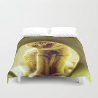 leonardo Duvet Covers featuring LEOnardo by dorilozada