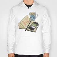 internet Hoodies featuring Internet Addict by Sally Renshaw