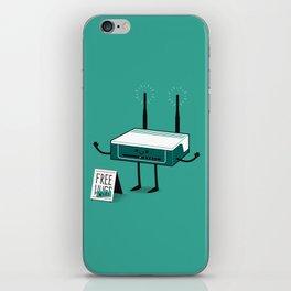 Free Wi-fi iPhone Skin