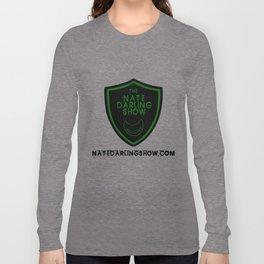 Nate darling show shield Long Sleeve T-shirt