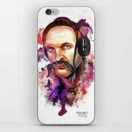 Cossack Ivan Sirko listen music iPhone Skin
