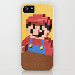 Game over Mario iPhone Case