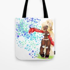 Lolola and the butterfly Tote Bag
