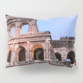 Colosseum at Night Pillow Sham