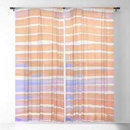 Easter and Spring Sheer Curtain
