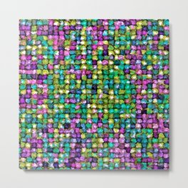 Colored Stones Metal Print