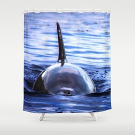 Fins Up 2 Shower Curtain