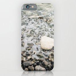 Pastel pebble beach Etretat, Normandy, France - Travel Photography fine art wall print Art Print iPhone Case
