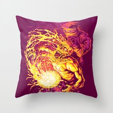 ACID DUNK Throw Pillow