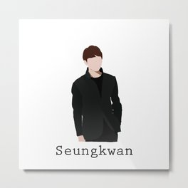 Seventeen - Seungkwan Metal Print