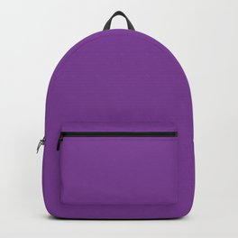 Cadmium Violet - solid color Backpack