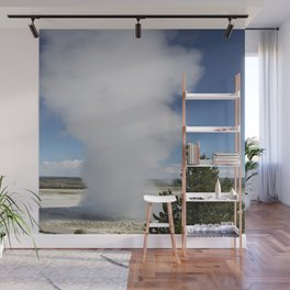 Cloud Of Steam and Water Wall Mural