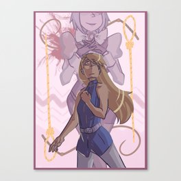 ace attorney- whips and nooses Canvas Print