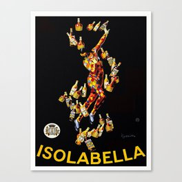 Vintage poster - Isolabella Canvas Print