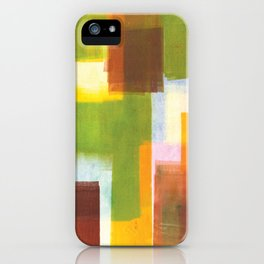 Color Block Series: Country iPhone Case