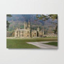 Margam Castle Metal Print