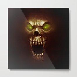 Ghoul - Blood Metal Print
