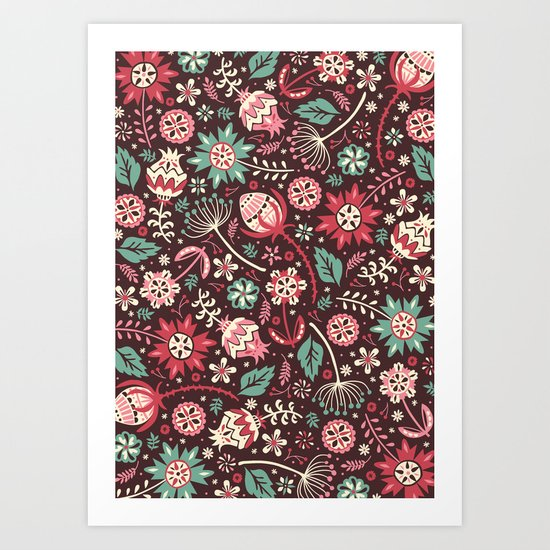Wallflowers Art Print