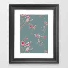 2016 Calendar Print - Cherry Blossoms Framed Art Print