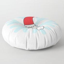 Christmas coming soon. Believe in Santa Clause. Believe #society6 #decor #buyart #artprint Floor Pillow