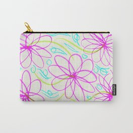 Flowers in the Lake Carry-All Pouch