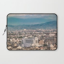 Rome Aerial View at Saint Peter Basilica Viewpoint Laptop Sleeve