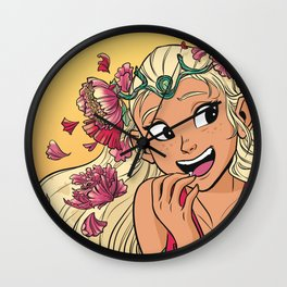 Perfuma Portrait (SPOP) Wall Clock