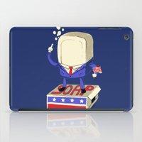 politics iPad Cases featuring Politics are Dirty by Jonah Makes Artstuff