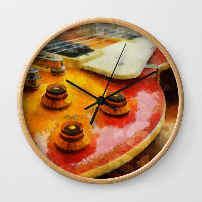 Les Paul Std 1958 Vos Wall Clock