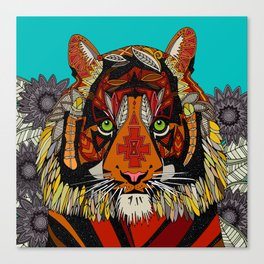 tiger chief Canvas Print